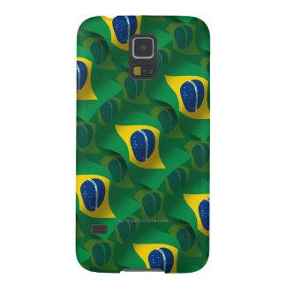 Brazil Waving Flag Galaxy S5 Cover