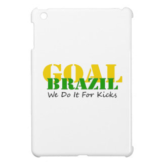 Brazil - We Do It For Kicks iPad Mini Cases