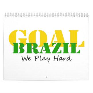 Brazil - We Play Hard Calendar