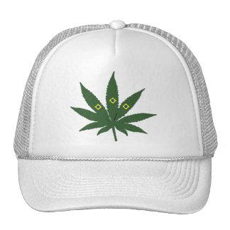 Brazil Weed Trucker Hat