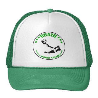 BRAZIL WORLD CHAMPS TRUCKER HAT