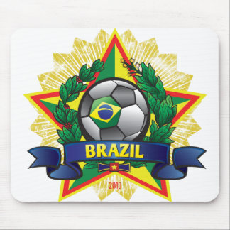 Brazil World Cup Mouse Pad