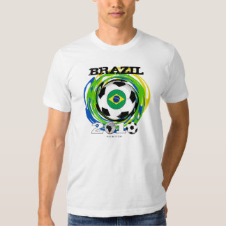 Brazil World Cup T-Shirt Twirl