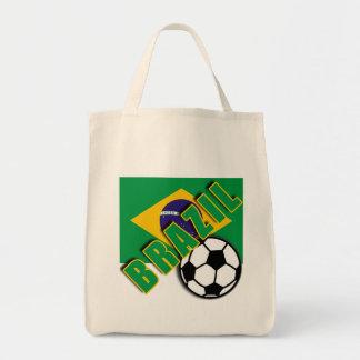 BRAZIL World Soccer Fan Tshirts Canvas Bag