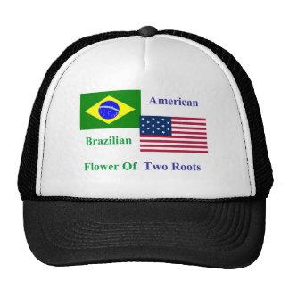 Brazilian-American Mesh Hat