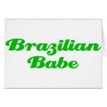 Brazilian Babe Card