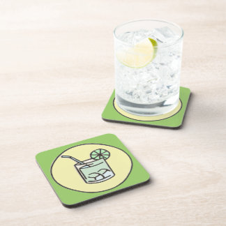 brazilian caipirinha cocktail coaster