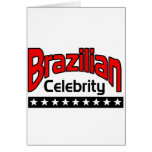 Brazilian Celebrity Greeting Card