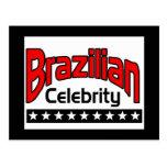 Brazilian Celebrity Post Card
