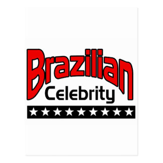 Brazilian Celebrity Postcard