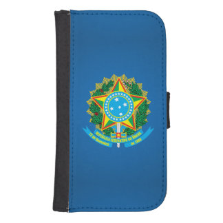 Brazilian coat of arms phone wallets