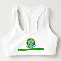 Brazilian Coat of arms Sports Bra