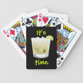 Brazilian Cocktail Drinking Time Playing Cards