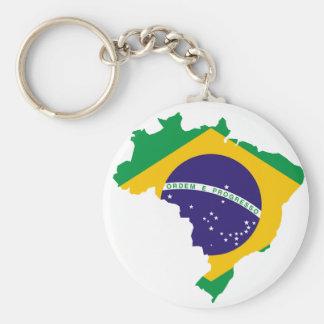 Brazilian country keychain