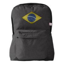Brazilian diamond american apparel™ backpack