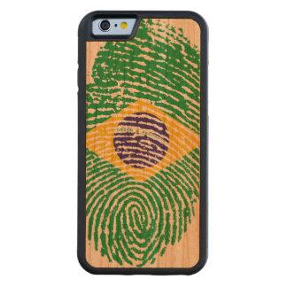 Brazilian Fingerprints Carved® Cherry iPhone 6 Bumper Case