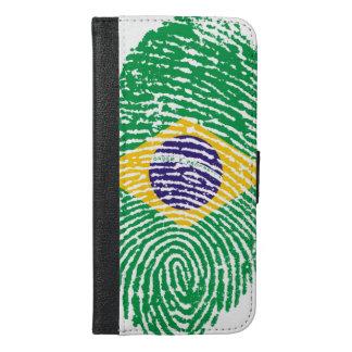 Brazilian Fingerprints iPhone 6/6s Plus Wallet Case
