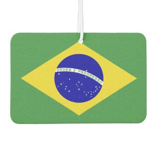Brazilian Flag Air Freshener