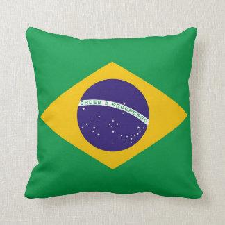 Brazilian Flag American MoJo Pillow