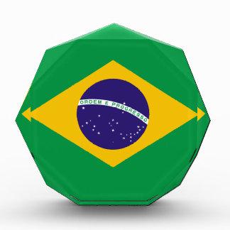 Brazilian flag award