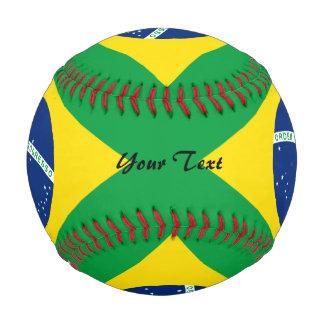 Brazilian flag baseball