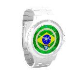 Brazilian Flag Brazil Port Richman Nautical Watches
