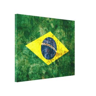 Brazilian Flag Canvas Print
