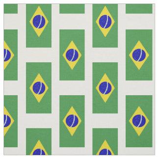 Brazilian Flag Fabric
