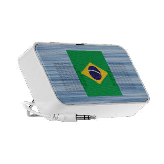 Brazilian Flag Floating on water Mini Speakers