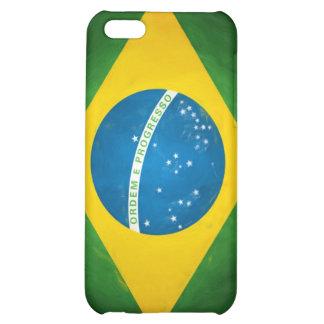 Brazilian_Flag Case For iPhone 5C