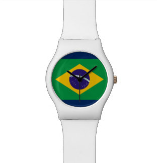 Brazilian Flag Ladies' / Girls' Watch - Customize