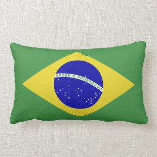 Brazilian Flag Lumbar Pillow