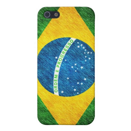 Brazilian_Flag_Pencil_Painting iPhone 5 Cases