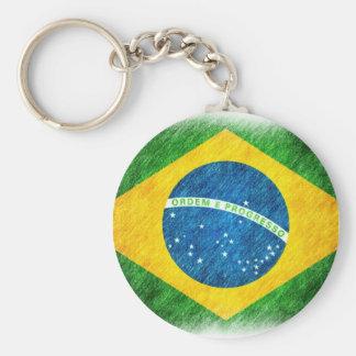 Brazilian_Flag_Pencil_Painting Llaveros