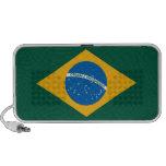 Brazilian flag, portable speaker from OrigAudio
