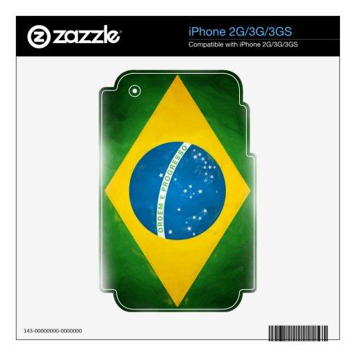 Brazilian_Flag Skins Para iPhone 2G