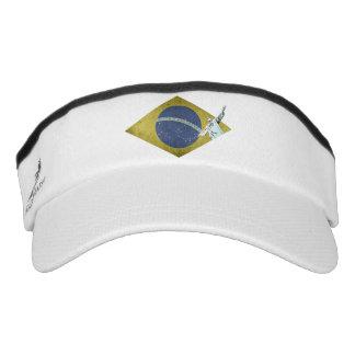 Brazilian flag visor