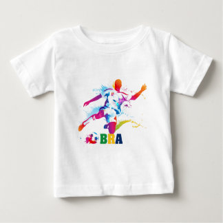 Brazilian Football Baby T-Shirt