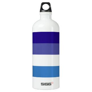 Brazilian G0YS Flag Theme Aluminum Water Bottle