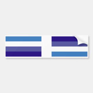 Brazilian G0YS Flag Theme Bumper Sticker