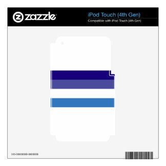 Brazilian G0YS Flag Theme iPod Touch 4G Skin