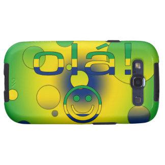 Brazilian Gifts Hello Ola + Smiley Face Samsung Galaxy SIII Case
