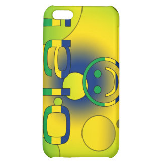 Brazilian Gifts Hello Ola + Smiley Face iPhone 5C Covers