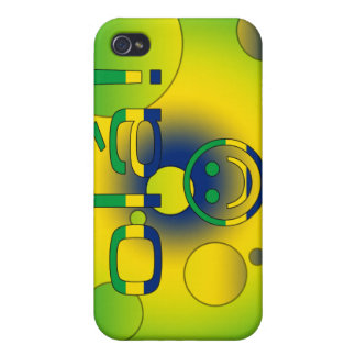 Brazilian Gifts Hello Ola + Smiley Face iPhone 4 Covers