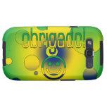 Brazilian Gifts Thank You / Obrigado + Smiley Face Samsung Galaxy S3 Case