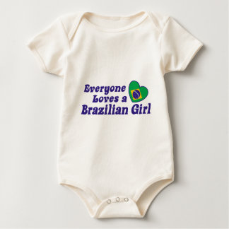 Brazilian Girl Baby Bodysuit