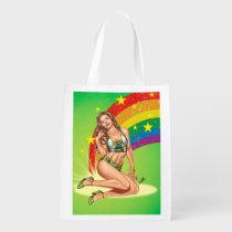 brazil, brasil, rainbow, gay, lesbian, art, illustration, al rio, high heels, beautiful, pinup, girl, [[missing key: type_reusableba]] with custom graphic design