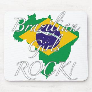 Brazilian Girls Rock! Mousepads