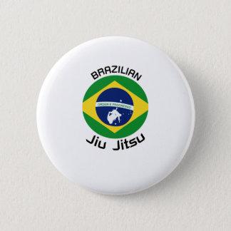 Brazilian Jiu Jitsu (BJJ) flag Fighters Gift Pinback Button