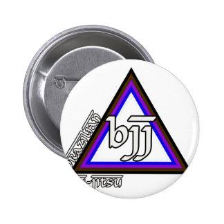 Brazilian Jiu Jitsu BJJ Triangle of Progress Button